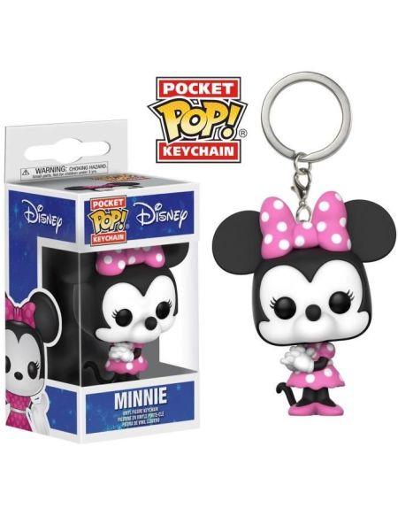 Porte-Clé Pocket Pop! Disney: Minnie Mouse