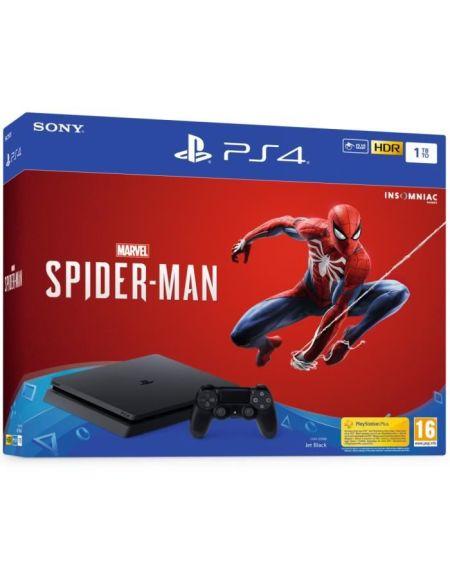 PS4 1To noire + jeu Spiderman
