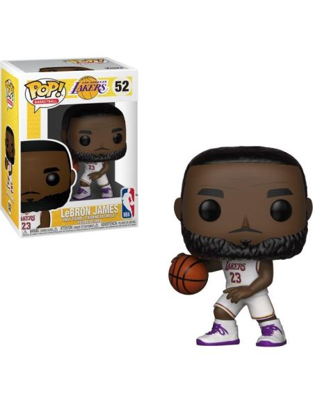 Figurine Funko Pop! NBA: Lakers - Lebron James (White Uniform)
