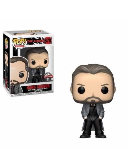Figurine Funko Pop! Movies: Die Hard - Hans Gruber