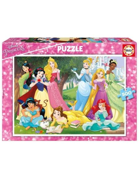 DISNEY Borras PRINCESSES Puzzle 500 piéces Princesses Disney - 17723