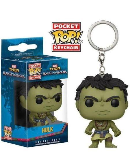 Porte-clé Funko Pocket Pop! Thor Ragnarok : Hulk