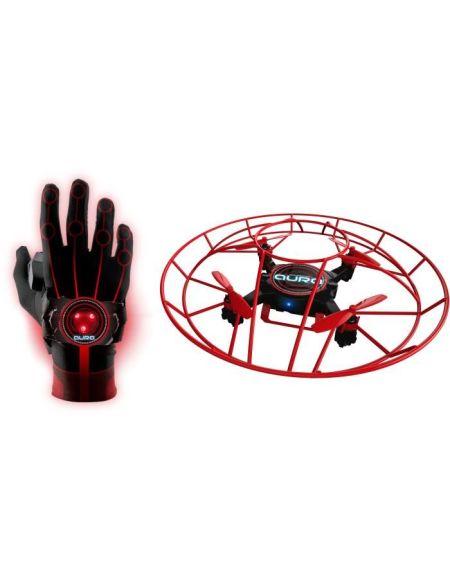 AURA Drone A Contrôler Par La Main - Noir/Rouge - C17800