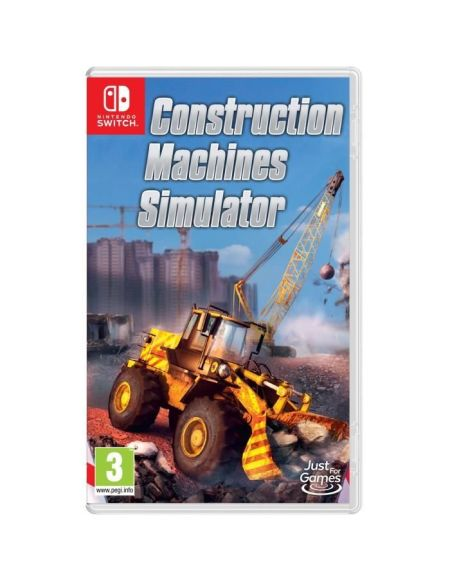 Construction Machines Simulator Jeu Nintendo Switch