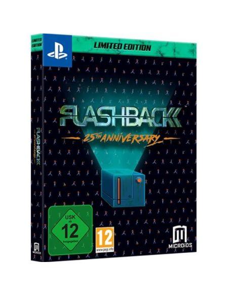 Flashback 25TH Anniversary Jeu PS4