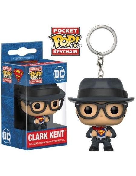 Porte-clés - Superman - Pop Clark Kent