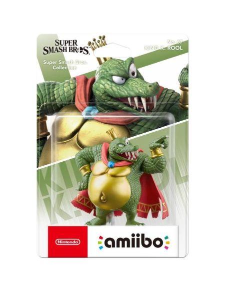 Figurine Amiibo Ndeg67 Smash King K Rool