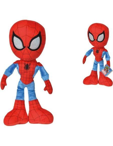 DISNEY MARVEL Peluche Spiderman Action - 40 cm