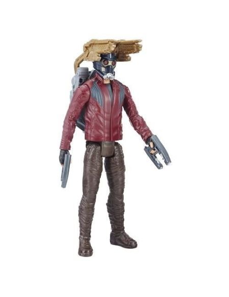 AVENGERS INFINITY WAR - STAR LORD - Figurine Titan Power Pack 30cm