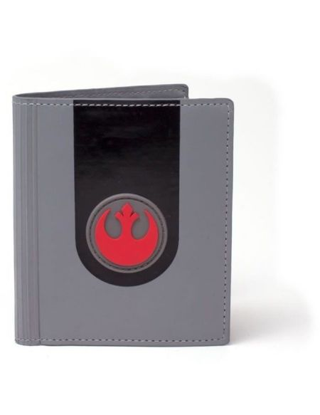Portefeuille pliable Star Wars: Emblème de l'Alliance Rebelle