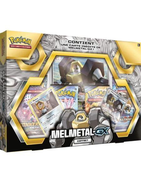 POKEMON - Coffret Pokémon MELMATEL GX - 4 Boosters + 1 carte spéciale (41 cartes) - Juin 2019