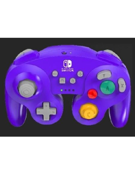 POWER A Manette Nintendo Switch GameCube sans fil Violette