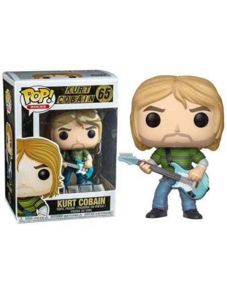 Figurine Funko Pop! Ndeg65 - Rocks - Kurt Cobain