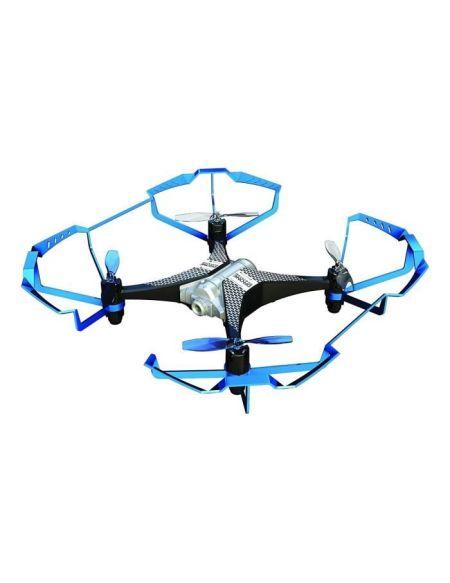 SILVERLIT - Drone Télécommandé Bleu Selfie Drone - 20 cm - 2,4 GHZ