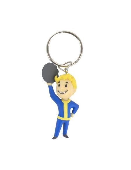 Porte-clés 3D Fallout 76 : Vault Boy