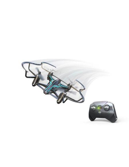 SILVERLIT - Drone de Course Télécommandé Hyperdrone - 13.5 cm - 2,4Gh - Pack simple