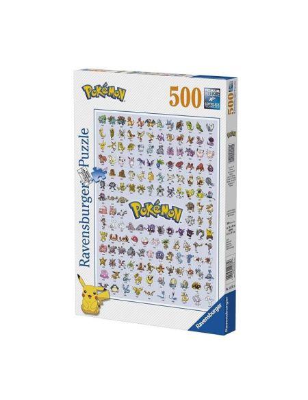 Puzzle 500 p - Pokédex première génération / Pokémon