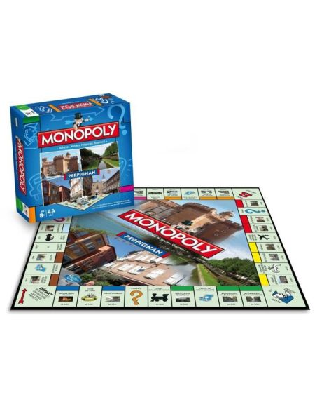 WINNING MOVES Monopoly Perpignan