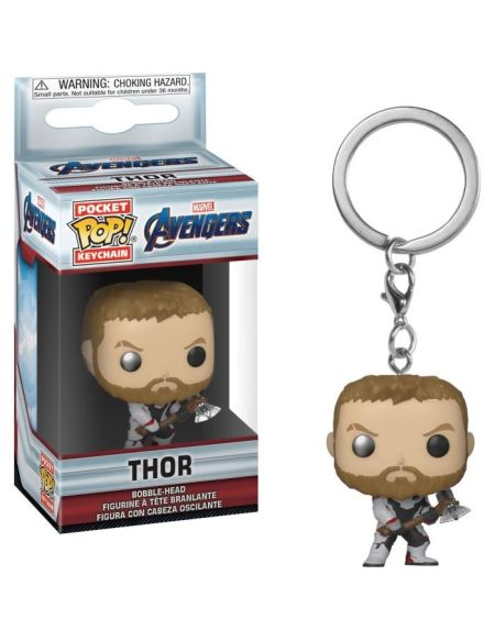 Porte-clés Funko Pocket Pop! Marvel : Endgame - Thor (TS)