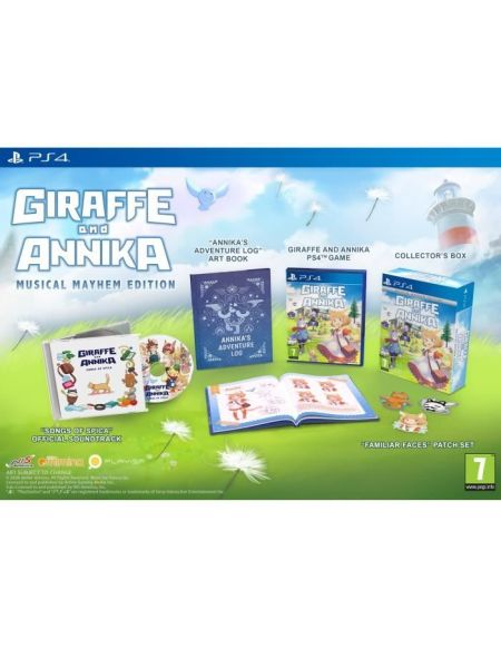 Giraffe And Annika