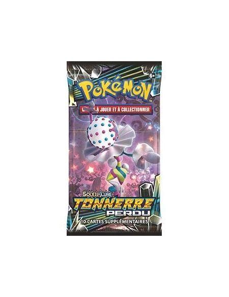 POKEMON Soleil et Lune 8 - Tonnerre Perdu - Booster SL08 - 10 cartes Pokémon - Modèle aléatoire