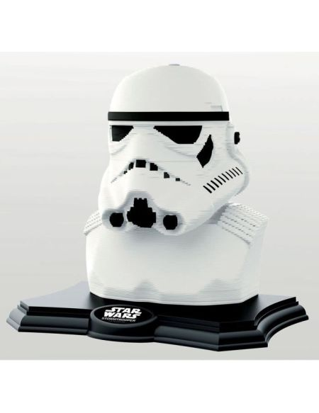 STAR WARS Color Sculpture Puzzle 3D Stormtrooper