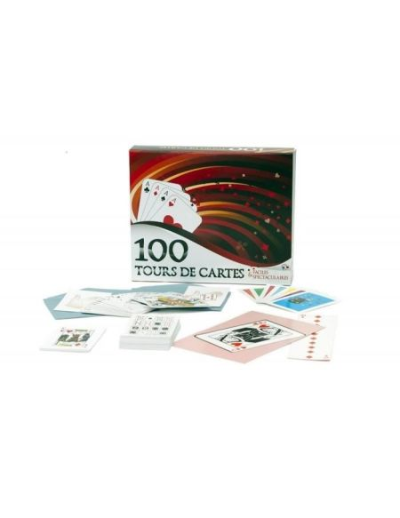 FERRIOT CRIC Coffret 100 Tours De Cartes