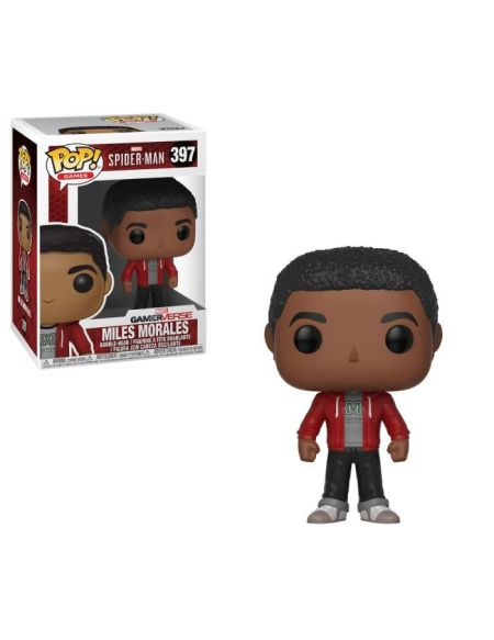Figurine Funko Pop! Marvel - Spider Man: Miles Morales