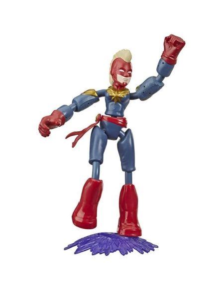 Marvel Avengers – Figurine Captain Marvel Bend & Flex – 15 cm