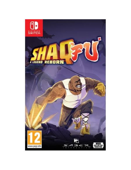 Shaq Fu A Legend Reborn Jeu Switch