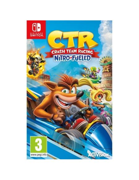 Crash Team Racing Nitro Fueled Jeu Switch