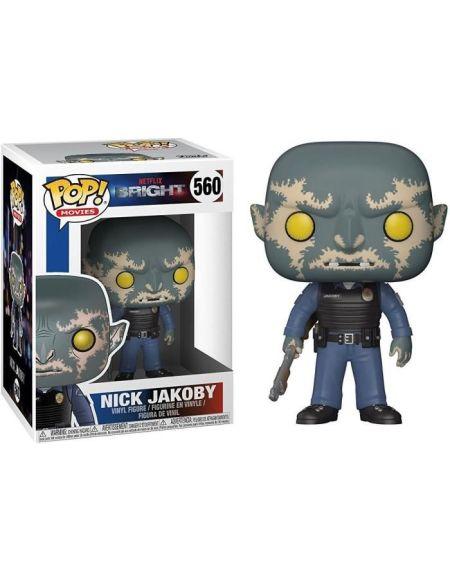 Figurine Toy Pop N°560 - Bright - Série 1 Nick Jakoby avec pistolet
