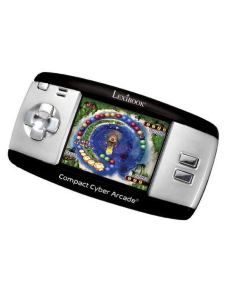 LEXIBOOK - Compact Cyber Arcade® Noir - 250 jeux - 6 ans et +
