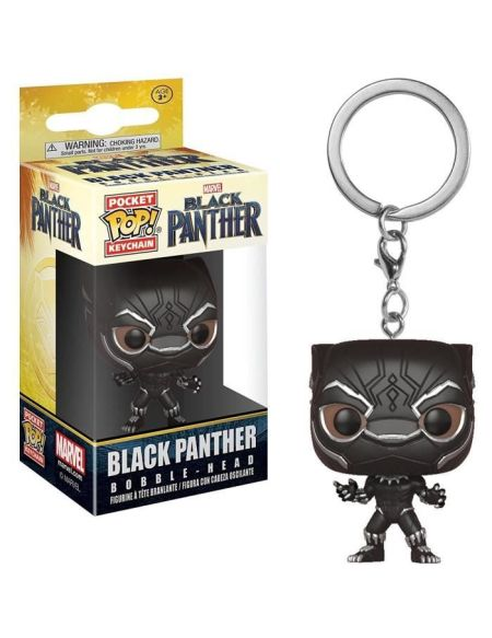 Porte-clés - Black Panther