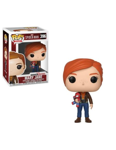 Figurine Funko Pop! N°396 - Spider-Man - S1 Mary Jane avec peluche