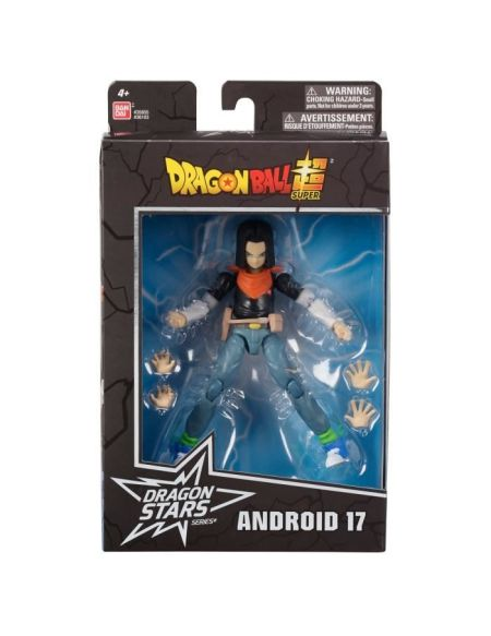 DRAGON BALL SUPER - Figurine Dragon Star 17 cm - Androïde C-17