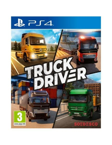 Truck Driver Jeu PS4