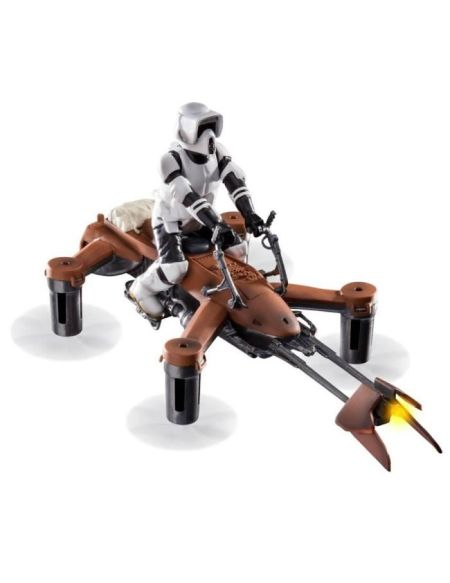 STAR WARS Drone Vaisseau 74-Z Speeder Bike