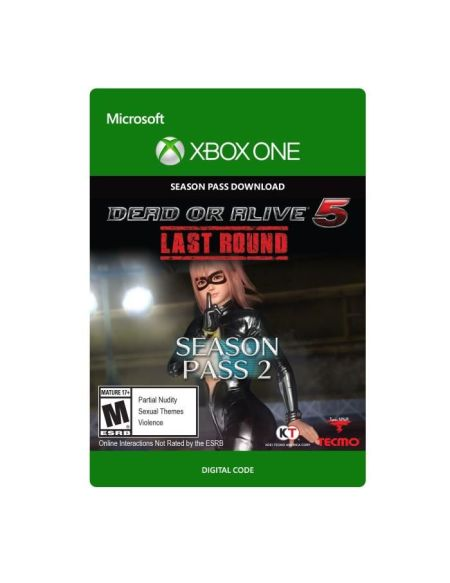 Season pass Dead or Alive 5 - Last Round: Costume pass 2 pour Xbox One
