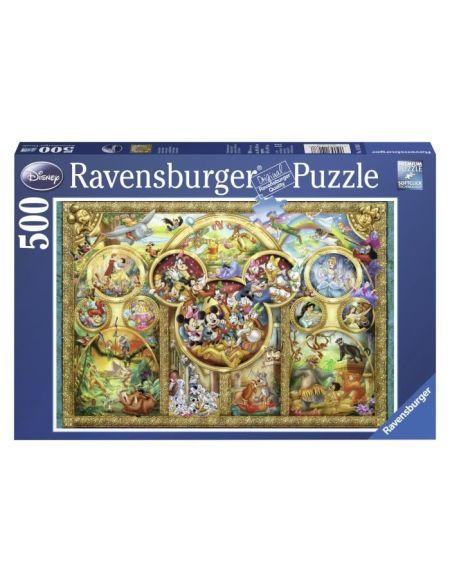 Puzzle La Famille Disney - 500 Pièces