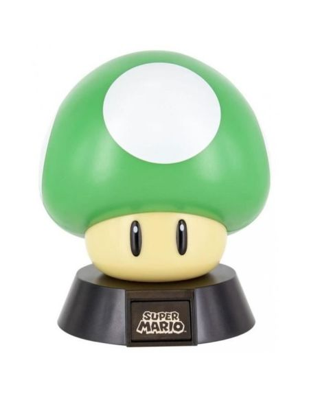 Lampe Veilleuse Super Mario Bros : Champignon Vert - PALADONE