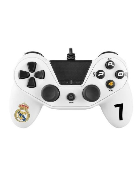 Manette Pro4 Real Madrid pour Playstation 4 - PS4 Slim - PS4 Pro - Playstation 3 - PC