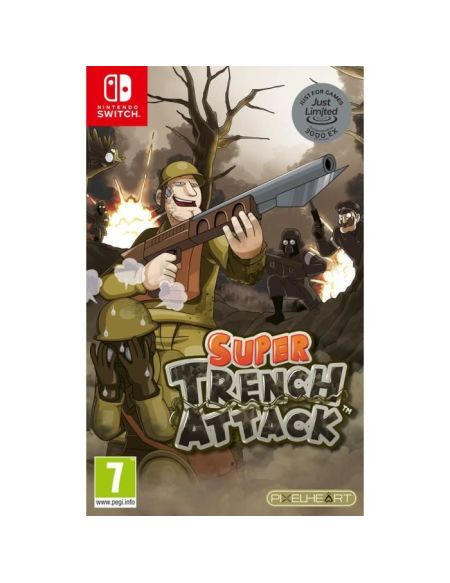 Super Trench Attack Just Limited Jeu Nintendo Switch