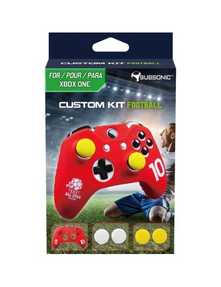 Custom Kit Football Rouge
