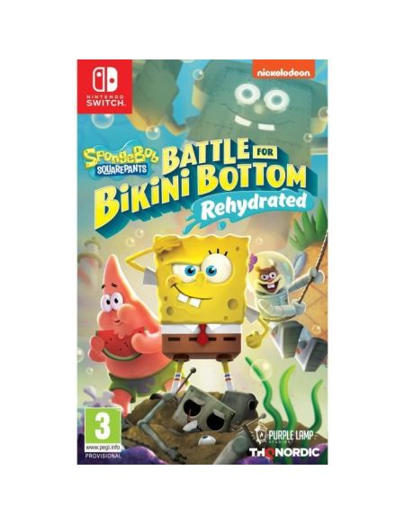 Spongebob Squarepants: Battle For Bikini Bottom - Rehydrated Jeu Nintendo Switch