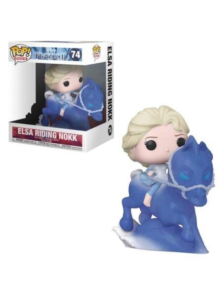 Figurine Funko Pop! Ride Ndeg74 - La Reine Des Neiges 2 - Elsa Sur Nokk