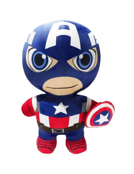 INFLATE-A-HERŒS Peluche gonflable Classic Captain America 75cm - Ultra résistante