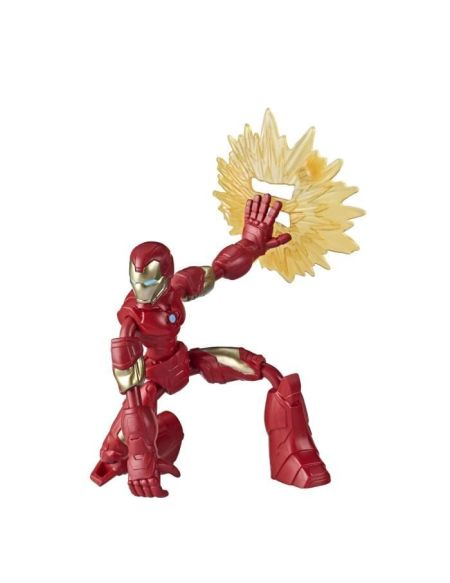 Marvel Avengers – Figurine Iron Man Bend & Flex – 15 cm