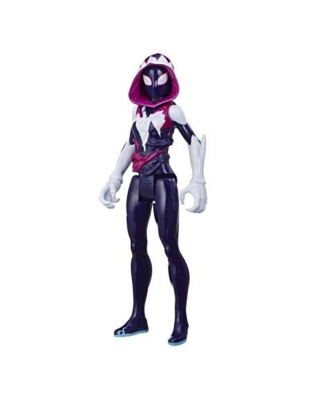 Marvel Spider-Man Maximum Venom – Figurine Titan Blast Gear Ghost-Spider - 30cm