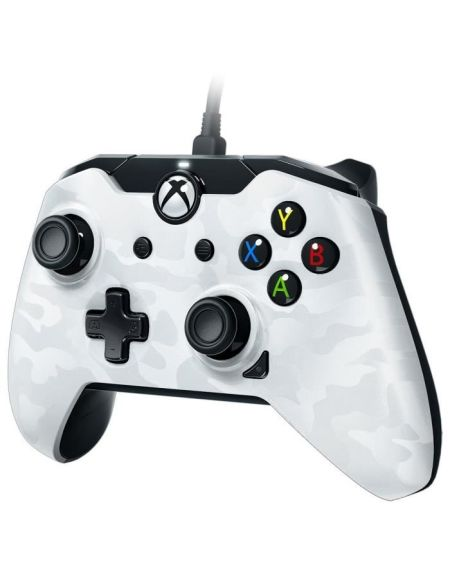 PDP Afterglow Manette Filaire Xbox One Camo Blanc